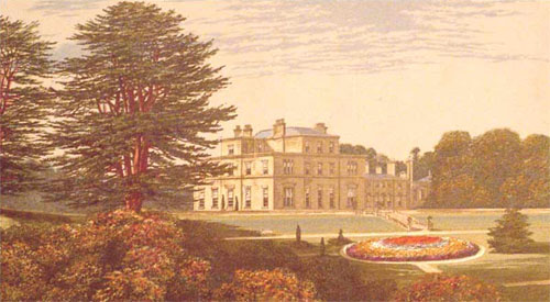 Eden Hall - drawn by Alexander Francis Lydon - 1867