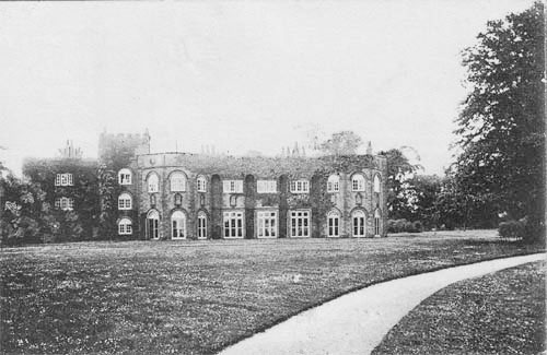 Hale Hall - south front