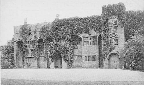 Hale Hall - north front - c1900