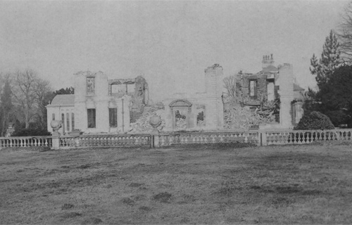 Uffington House - after the fire