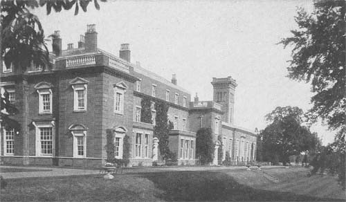 Didlington Hall - south front