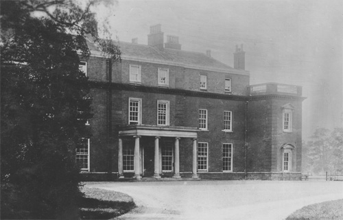 Didlington Hall - north front