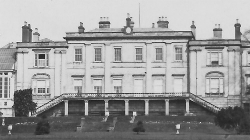 Welton House - south front close up