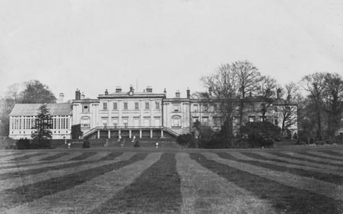 Welton House - south front